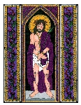 Ecco Homo 6x9 Window Cling