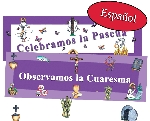 Spanish - Lent/Easter Banner Kit