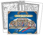 WHOLESALE - Mary, Queen of Heaven and Earth Coloring Portfolio