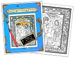 WHOLESALE - Rosary Mysteries Coloring Portfolio