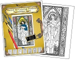 WHOLESALE - Stained Glass Angels Coloring Portfolio