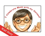 I Celebrate Mass with my Senses Wall Story