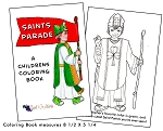Childrens Saints Parade Coloring Book - 10 Pack