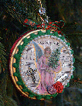 Adriana's Angel Christmas Ornaments