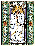 The Assumption of Mary 6x9 Window Cling