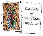 Our Lady of Czestochowa Holy Cards (32)