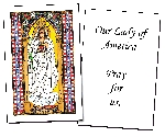 Our Lady of America Holy Cards (32)