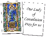 Our Lady of Consolation Holy Cards (32)
