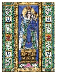 Our Lady of Consolation 6x9 Window Cling