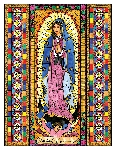 Our Lady of Guadalupe 6x9 Window Cling