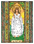 Our Lady of Knock 6x9 Window Cling