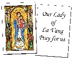 Our Lady of La Vang Holy Cards (32)