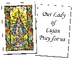 Our Lady of Lujan Holy Cards (32)