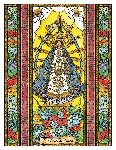 Our Lady of Lujan 6x9 Window Cling