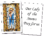 Our Lady of the Snows Holy Cards (32)