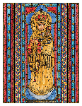 Our Lady Vailankanni 6x9 Window Cling
