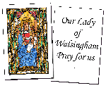 Our Lady of Walsingham Holy Cards (32)