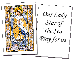 Our Lady Star of the Sea Holy Cards (32)
