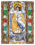 Our Lady Star of the Sea 6x9 Window Cling
