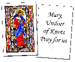 Mary, Undoer of Knots Holy Cards (32)