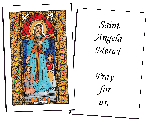 Saint Angela Merici Holy Cards (32)