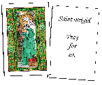 Saint Brigid Holy Cards (32)