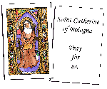 Saint Catherine of Bologna Holy Cards (32)