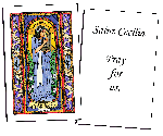 Saint Cecilia Holy Cards (32)