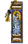 Saint Cecilia Book Mark