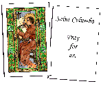 Saint Columbo Holy Cards (32)