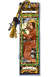 Saint Columba Book Mark