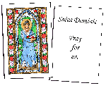 Saint Dorothy Holy Cards (32)