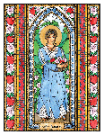 Saint Dorothy 6x9 Window Cling