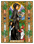 Saint Elizabeth Ann Seton 6x9 Window Cling