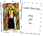 Saint Faustine Holy Cards (32)