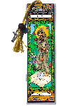 Saint Fiacre Book Mark