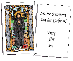 Saint Frances Xavier Cabrini Holy Cards (32)