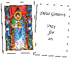 Saint Genesius Holy Cards (32)