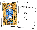 Saint Hildegard of Bingen  Holy Cards (32)