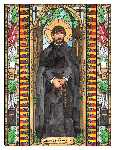 Saint Issac Jogues 6x9 Window Cling