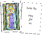 Saint Ita  Holy Cards (32)