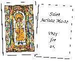 Saint Jucinta Marto  Holy Cards (32)