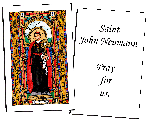 Saint John Neumann  Holy Cards (32)
