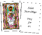 Saint Juan Diego  Holy Cards (32)