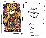 Saint Katharine Drexel  Holy Cards (32)
