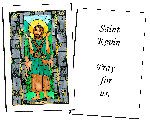 Saint Kevin  Holy Cards (32)