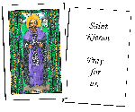 Saint Kieran  Holy Cards (32)