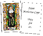 Saint Marianne Cope Holy Cards (32)