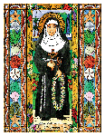 Saint Marianne Cope 6x9 Window Cling