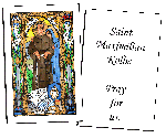 Saint Maximilian Kolbe Holy Cards (32)